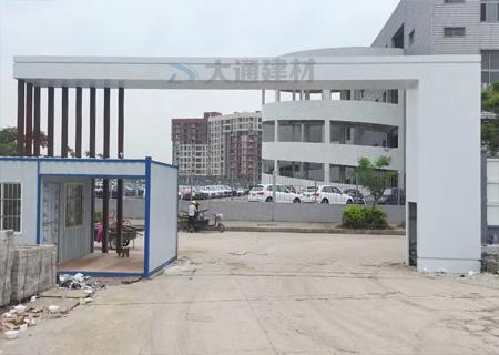 施工现场工地大门 新型工地大门概述