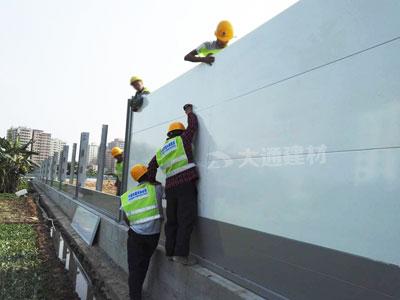 深圳施工工地钢结构围挡价格是多少?