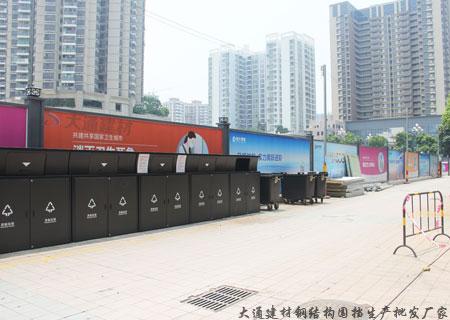 深圳市政部门对于工地施工现场的围挡高度有怎样的规格要求?