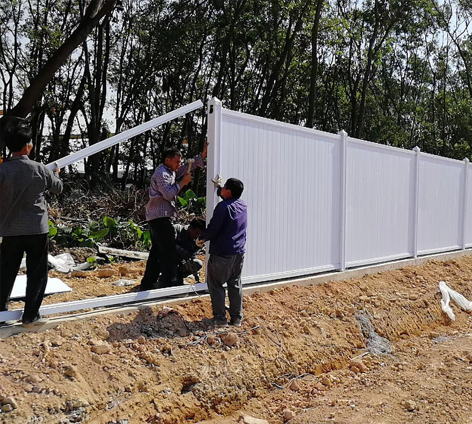 PVC建筑工地围挡