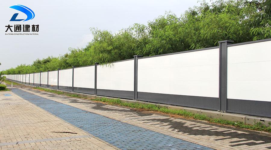 深圳南山前海工地施工围挡-市政围挡安装
