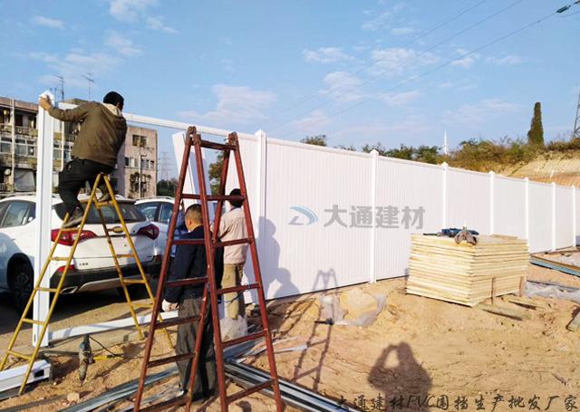 佛山PVC围挡-佛山施工PVC围挡工程案例