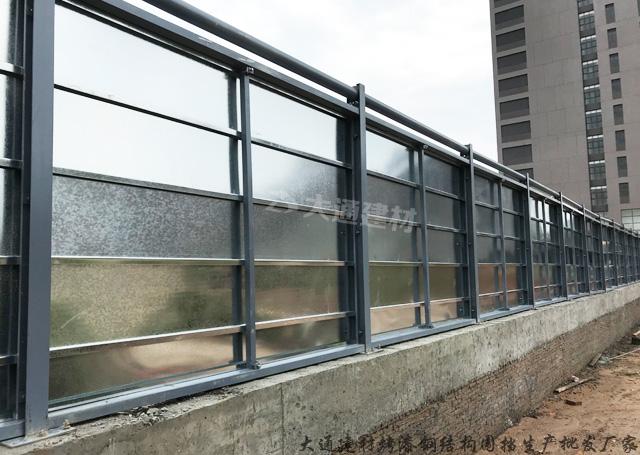 钢结构围挡C款-广东佛山施工围挡案例