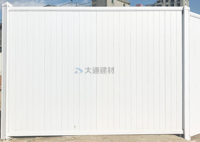 中山PVC围挡白色-中山东区街道施工PVC围挡<