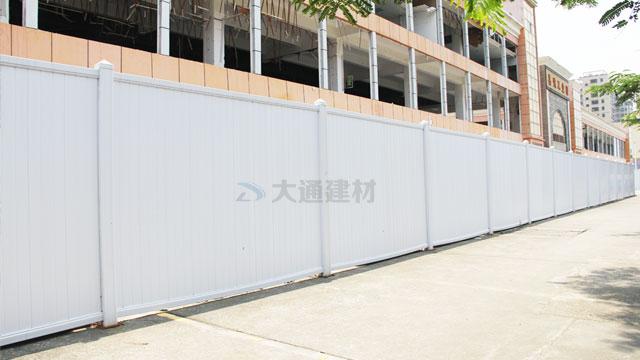 深圳光明嘉鸿电地块城市更新项目拆除工程PVC围挡案例