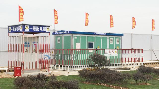 深圳基坑围挡09款-中国铁建工程网格型临边围栏护栏